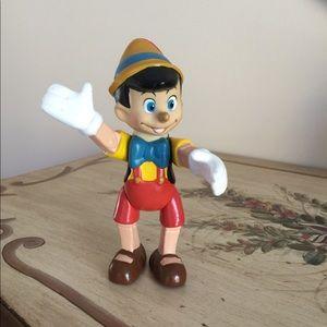 Pinocchio Moveable Rubber Figurine